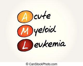 AML - Acute Myeloid Leukemia, acronym