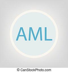 AML (Acute Myeloid Leukemia) concept