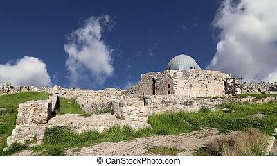 Amman city landmarks-Jordan - Amman city landmarks-- old...