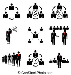 amministrazione, diretto, company., affari