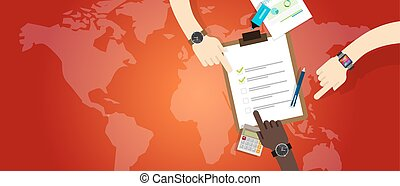amministrazione, emergenza, lavoro, preparazione, piano,...