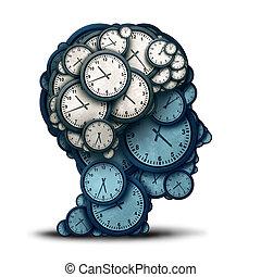 amministrazione, mente, tempo