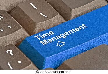 amministrazione, tempo, chiave, tastiera