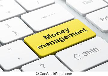 amministrazione, valuta denaro, computer, fondo, tastiera, concept: