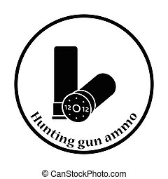 Ammo from hunting gun icon