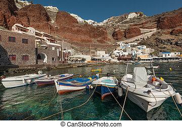 ammoudi, 湾