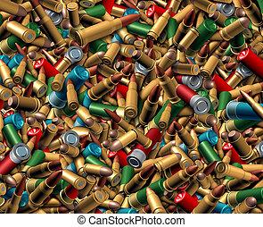 Ammunition Bullets Background - Ammunition bullets...