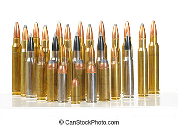Ammunition of various types and sizes from 320 Auto to 300...