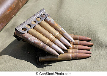 Ammunition - Old ammunition from the second world war