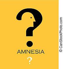 Amnesia.dementia, loss, memory.