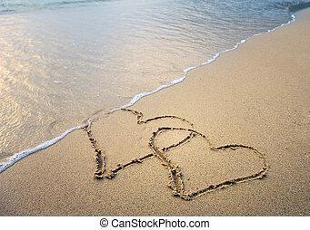 amo, areia