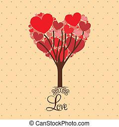 amor, árvore