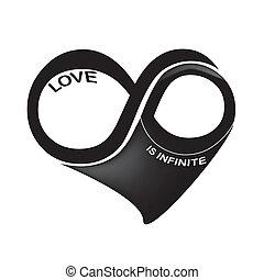amor, é, infinito