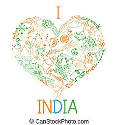 amor, índia