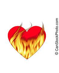 amor, ardiente