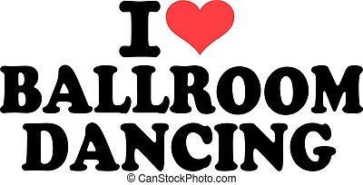 amor, baile de salón