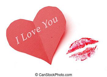 amor, beijo