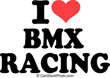 amor, bmx, carreras