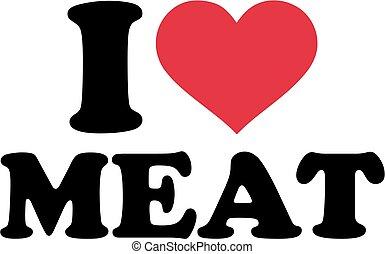 amor, carne