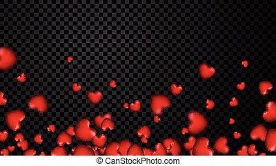 Amor, corações, fundo, valentine