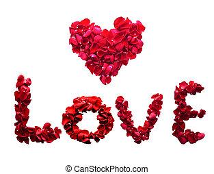 amor, de, corazón