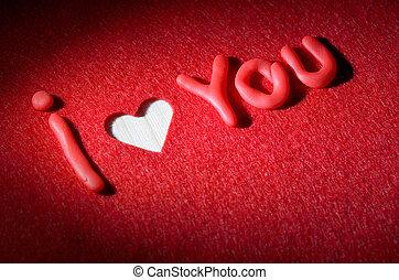 amor, declaração