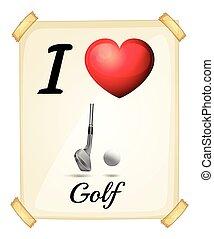 amor, golfe