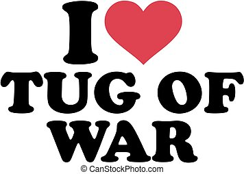 amor, guerra, tirón