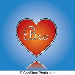 amor, irmão, ilustração