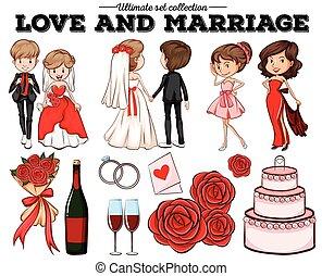 amor, Matrimonio, gente