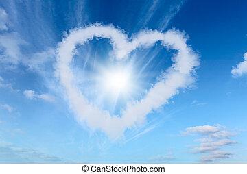 amor, nubes