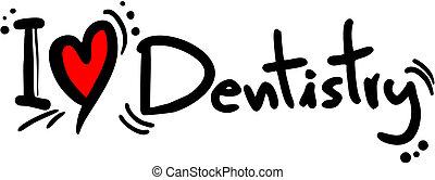 Amor, odontologia