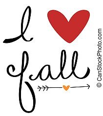 amor, outono