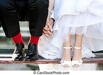 amor, pés
