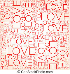 amor, palavra, colagem