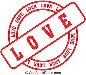 amor, palavra, stamp7