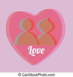amor, pessoas