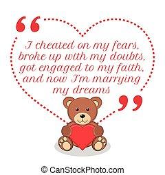 amor, quote., inspirador