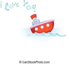 amor, steamship