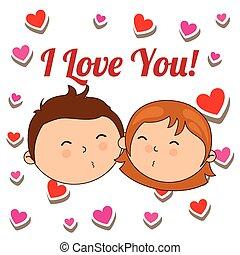 amor, tarjeta