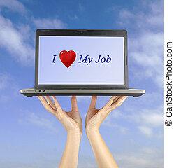 amor, trabajo, mi