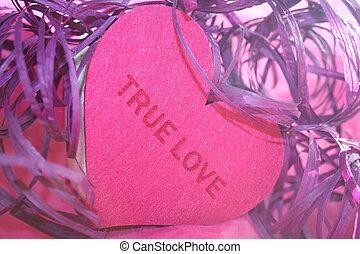 amor verdadeiro, coração