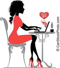 amor, virtual