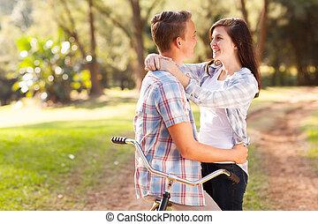 amore adolescente, coppia