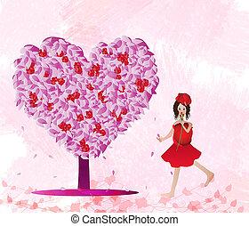 amore, albero