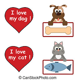 amore, animali domestici
