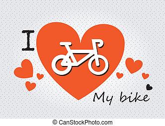amore, bicicletta, mio