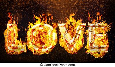 amore, caldo