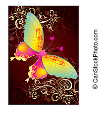 amore, farfalla