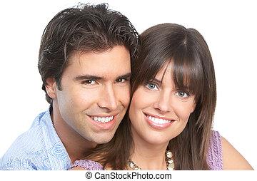 amore, giovane coppia